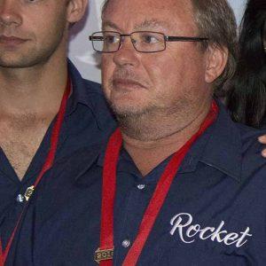 Herbert Karolius at the 2016 Vasco da Gama Ocean Race prozegiving.