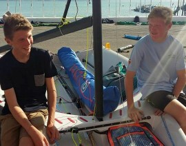 Q&A with 29er sailor, Benji Daniel