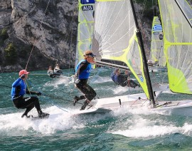 2015 49er World Championships – locals faring well