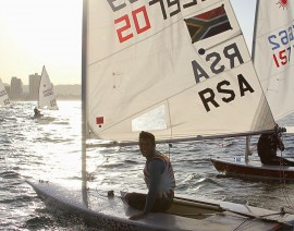 SA Laser Nationals Offshore of Durban