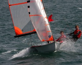 29er Sailing – Benji and Chad training