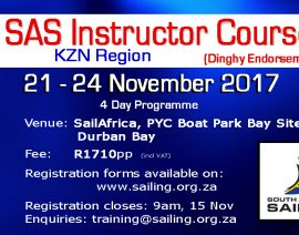 SAS Instructor Course