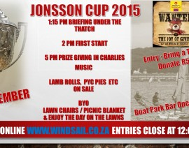 Jonnson Cup 2015 Notice of Race
