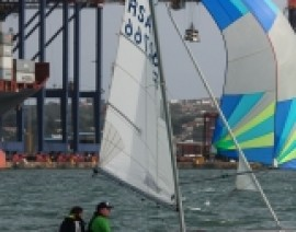 Port Shepstone sailing pair tough it out in gusty conditions