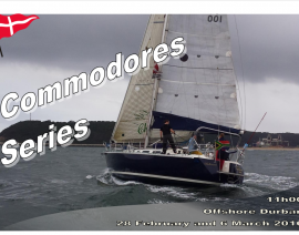 PYC Keeler Commodore Series – Entry Form