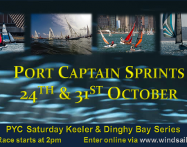 Port Captain Sprints 2015 – Dinghy Fleet Results – Final