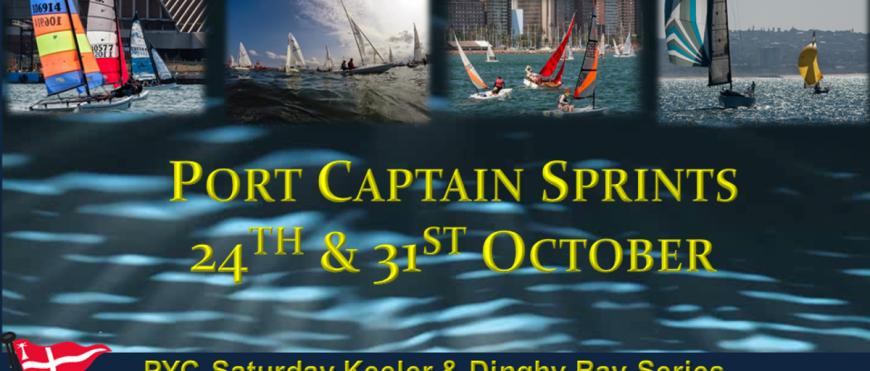 Port Captain Sprints 2015 Poster