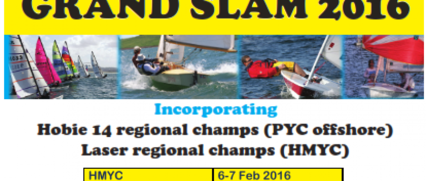 SAS KZN Grand Slam 2016 – HMYC Series, incorporating Laser KZN Champs – Entry Form