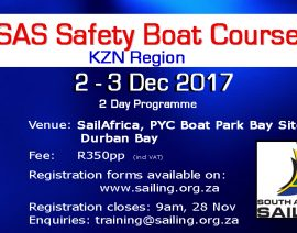 Safety Boat Course