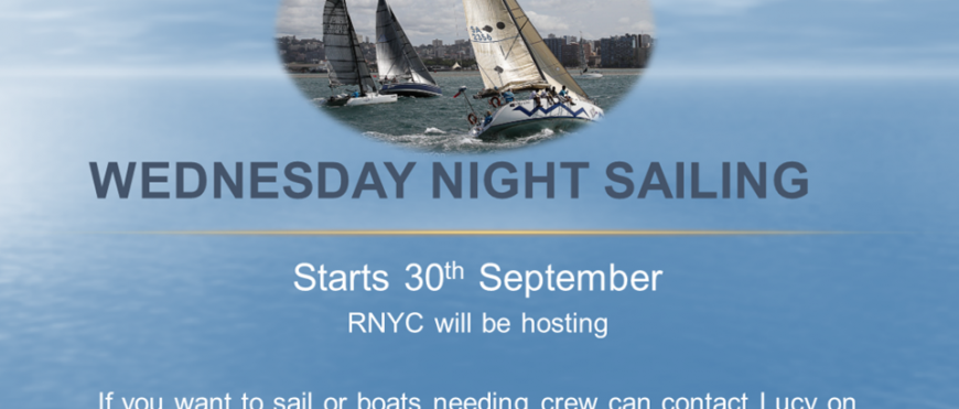 Wednesday night sailing Poster 1