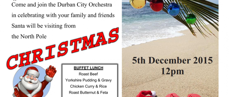 Xmas Lunch Poster