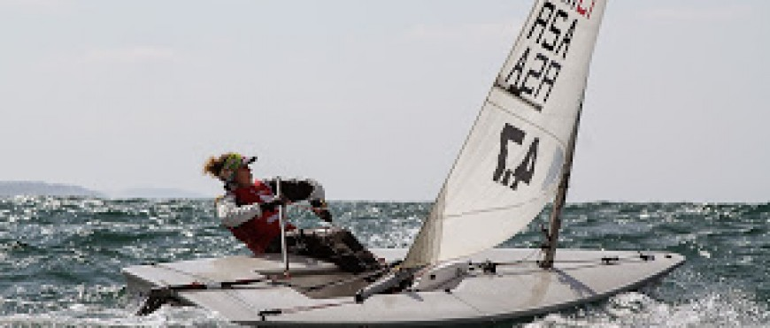 Mossel Bay's Megan Robertson does well in SA Laser Nationals