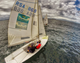 Wrap up for day one of Bay and Offshore Dingy Series