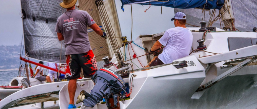 Point Yacht Club Caney Series Day Two