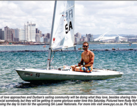 Valentine's day Dinghy Class Champs